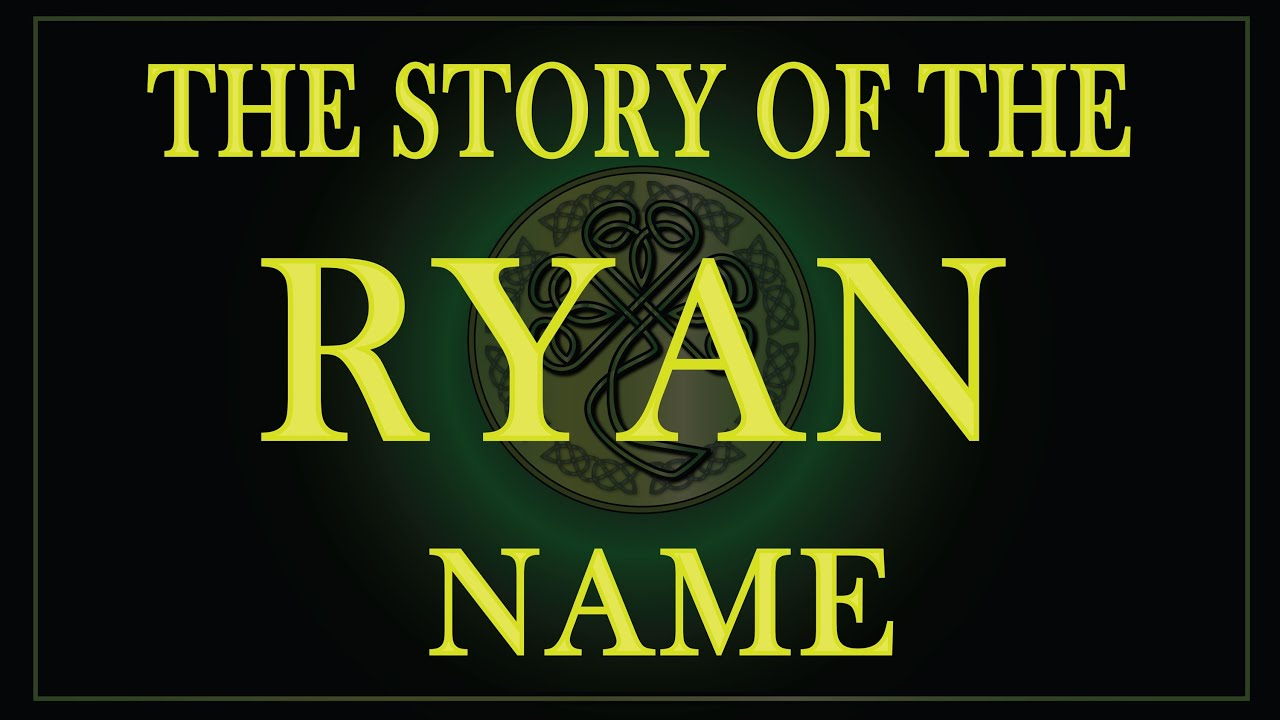 Tracing Your Irish Ancestry - The Ryan Clan pertaining to Tracing Name Ryan
