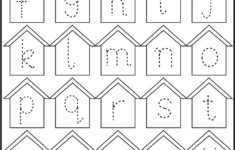 Small Alphabet Tracing Worksheets Pdf