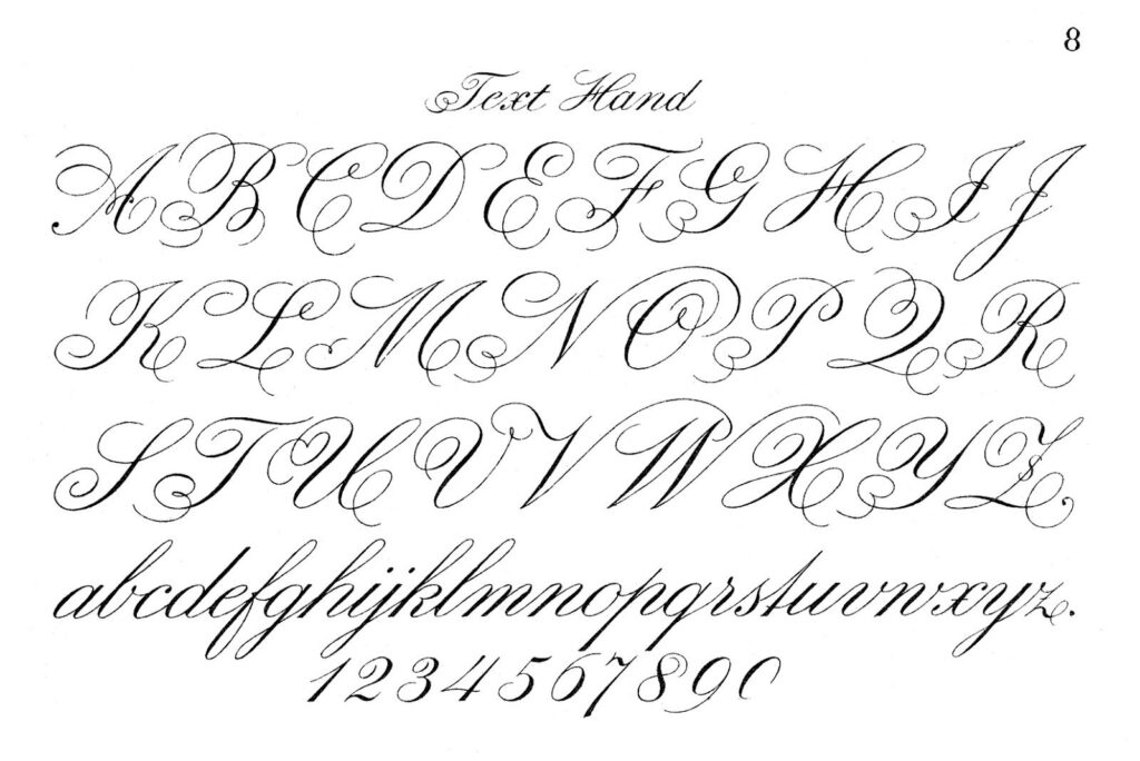 Typography Printable   Fancy Script   Monograms   The