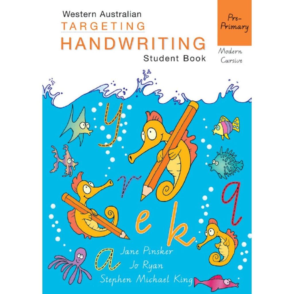 Wa Targeting Handwriting Student Book Pre–Primary Throughout Tracing Name Ryan