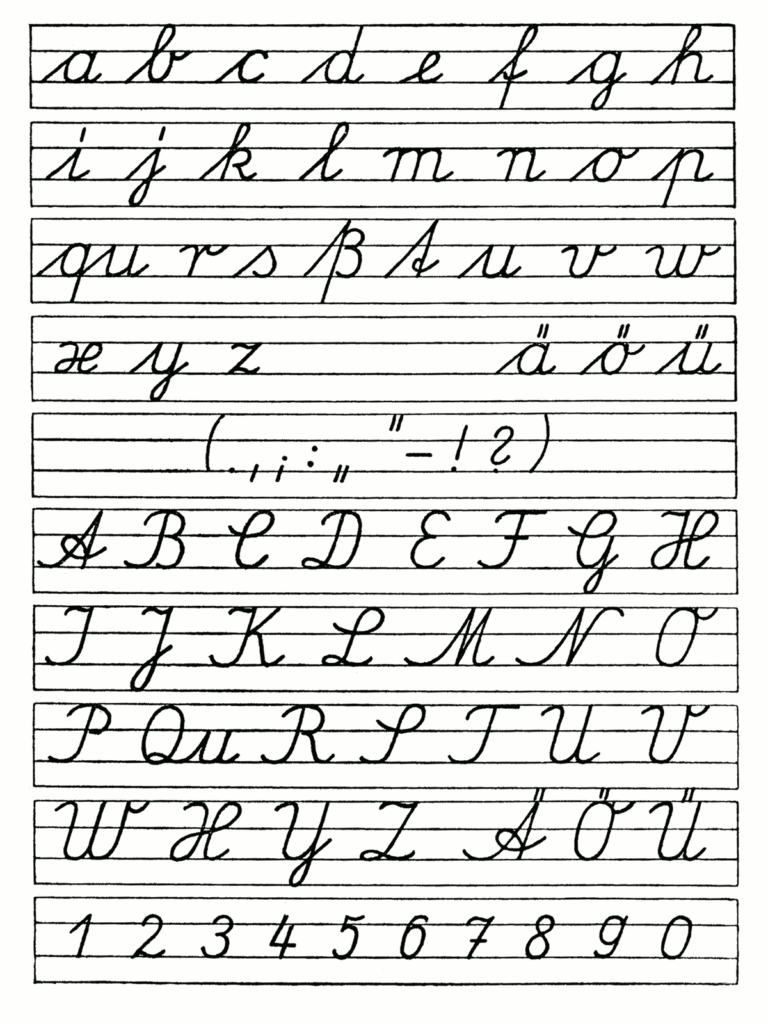 Wikipedia Gdr Handwriting   Link To Discussion Of Different