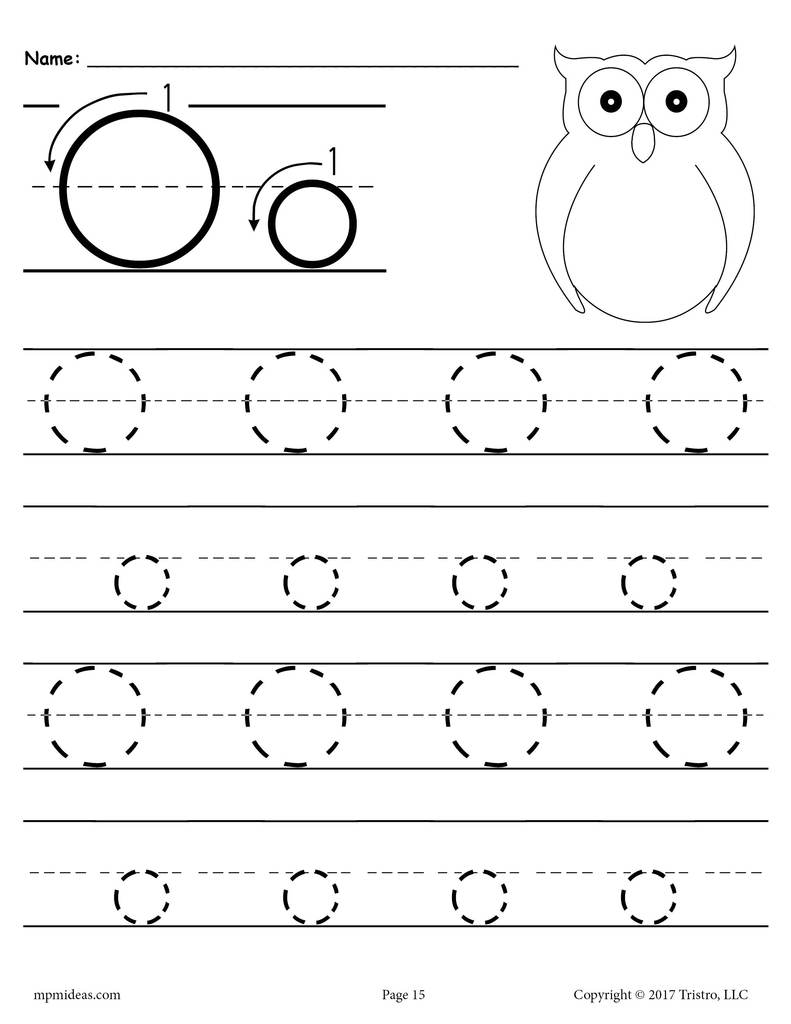 Worksheet ~ 1Print Preschool Handwriting Tracingnoarrows15 1 throughout Letter L Tracing Worksheets Preschool