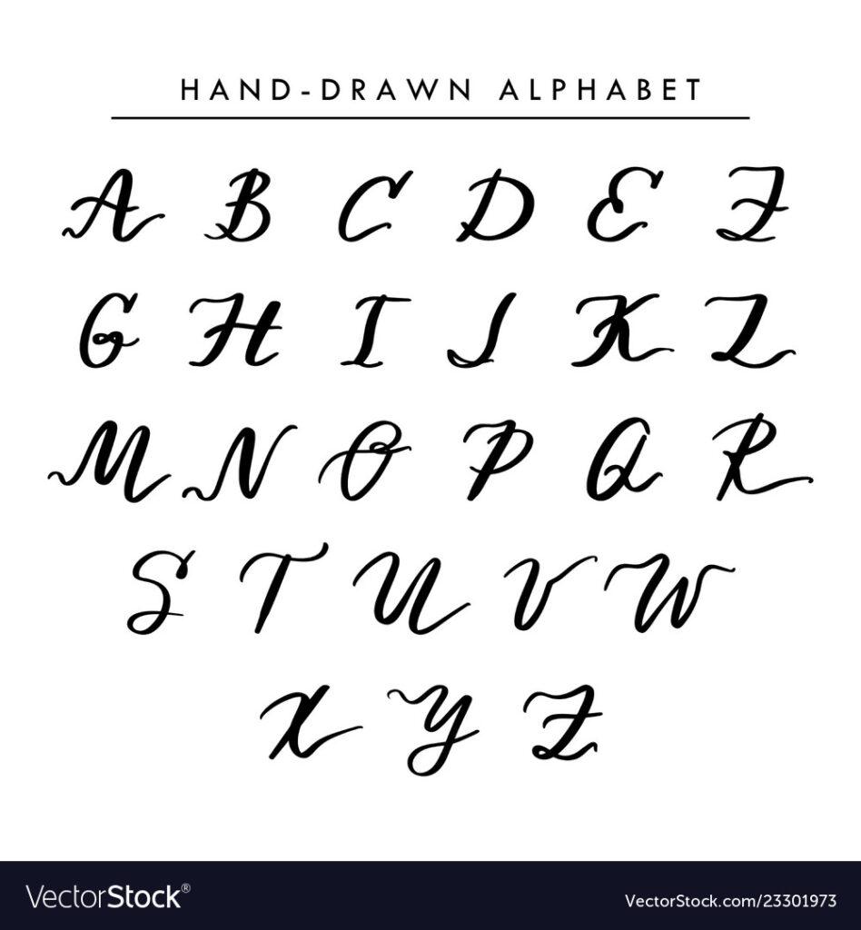 Worksheet ~ Alphabet In Cursive Handwriting Photo