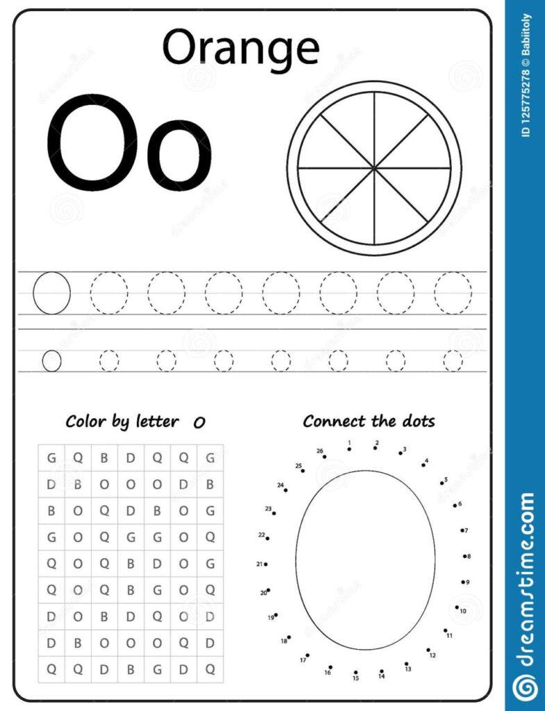 Worksheet ~ Alphabet Letter O Worksheet Task Kids Learning Inside Letter O Worksheets