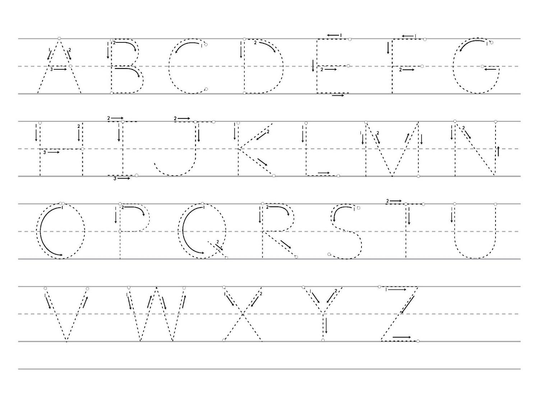 Worksheet ~ Alphabet Trace Worksheet Free Printable Sheets