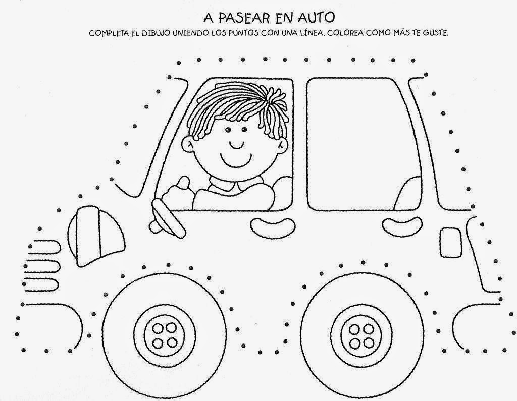 Worksheet ~ Car Trace Worksheet For Kids Crafts And