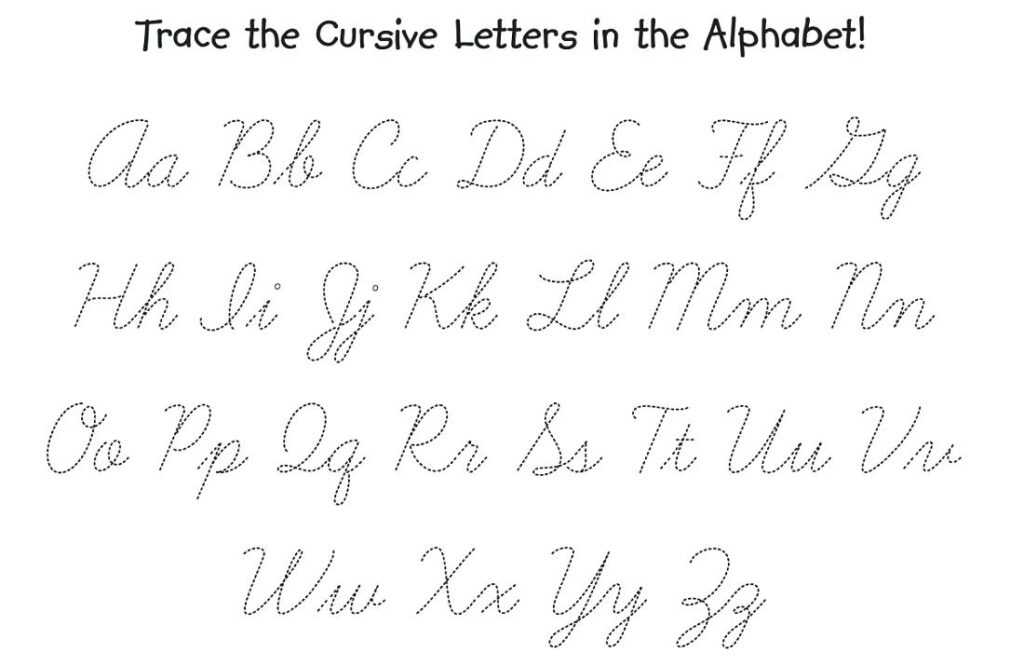 Worksheet ~ Cursive Alphabet Practice Sheets Free Printable