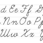 Worksheet ~ Cursive Letters Az Lowercase And Uppercase