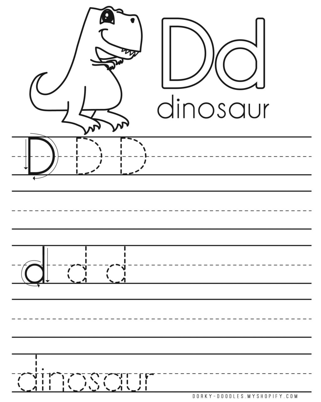 Worksheet ~ D Tracing Free Tracing Letters For Toddlers