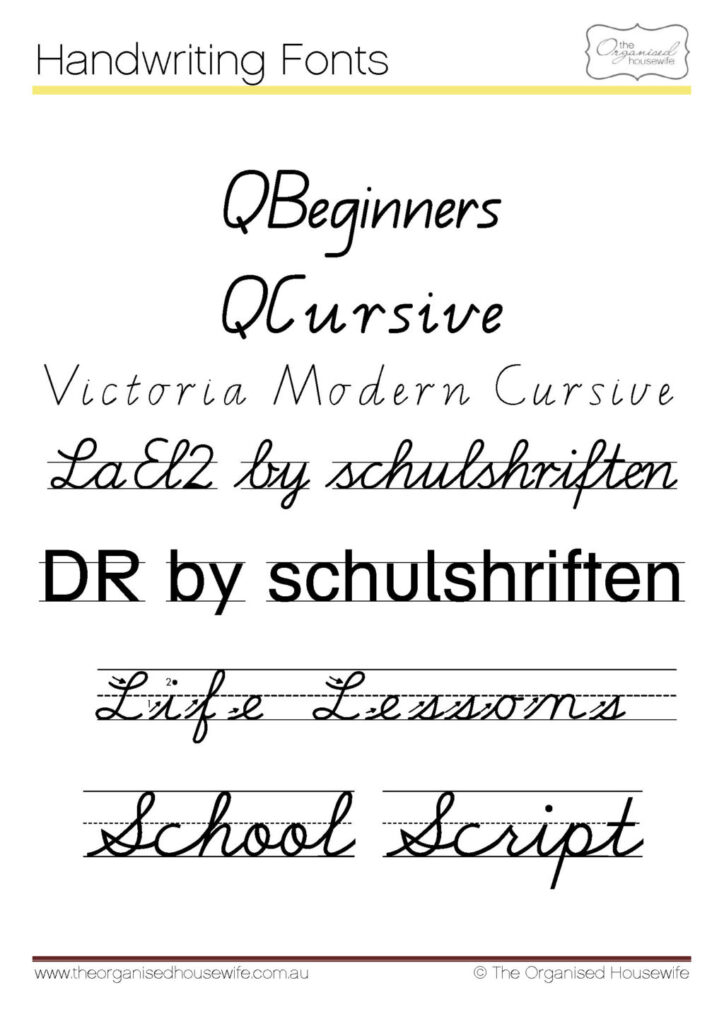 Worksheet ~ Fonts To Help Kids Write Qldive The Organised Within Name Tracing Font