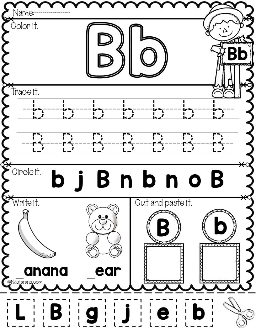 Worksheet ~ Free Printableet Worksheets For Preschoolers within Alphabet Worksheets A-Z Free