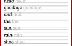 Cursive Alphabet Grade 3