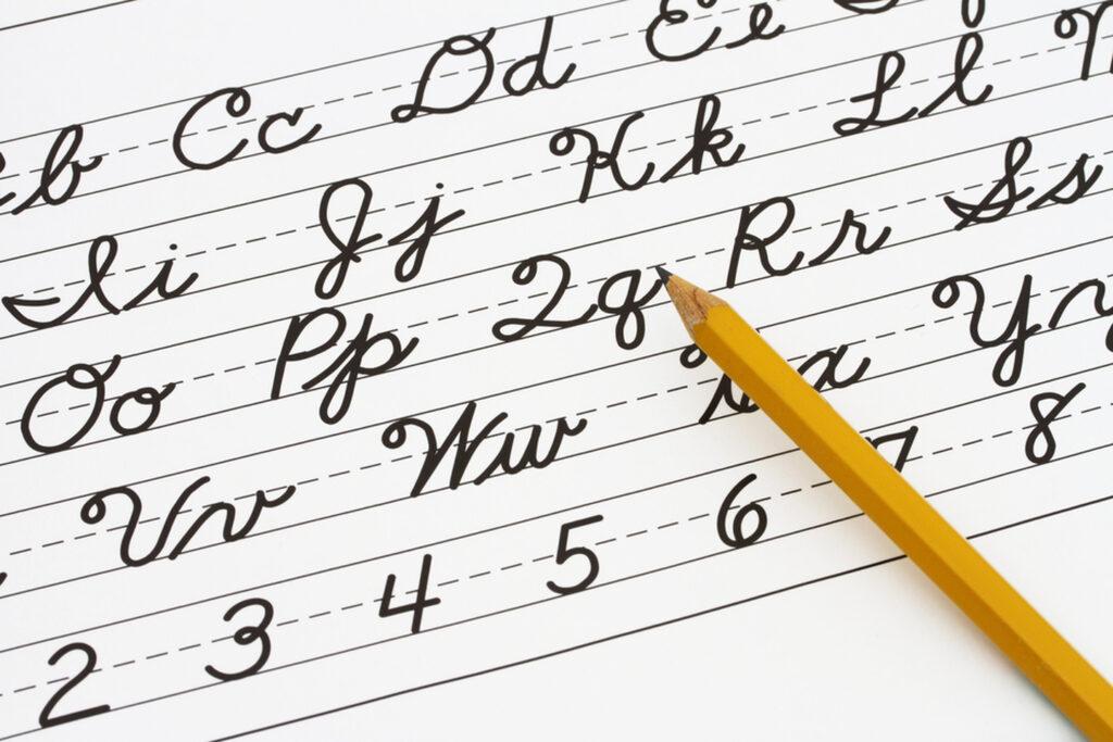 Worksheet ~ Handwriting Cursive Worksheets With Borders