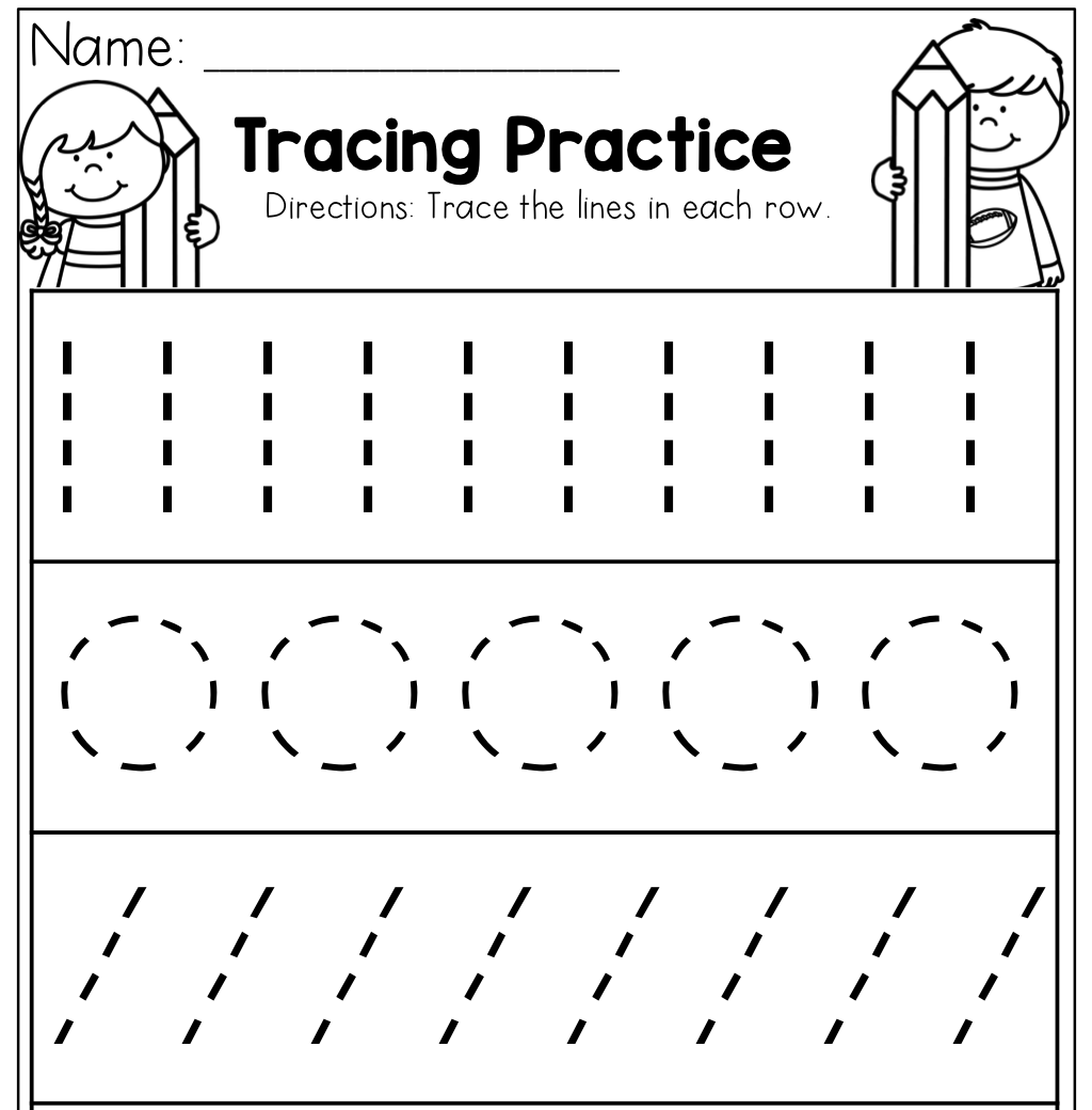 Worksheet ~ Incredibleg Practice For Preschoolers Preschool regarding Name Tracing Practice