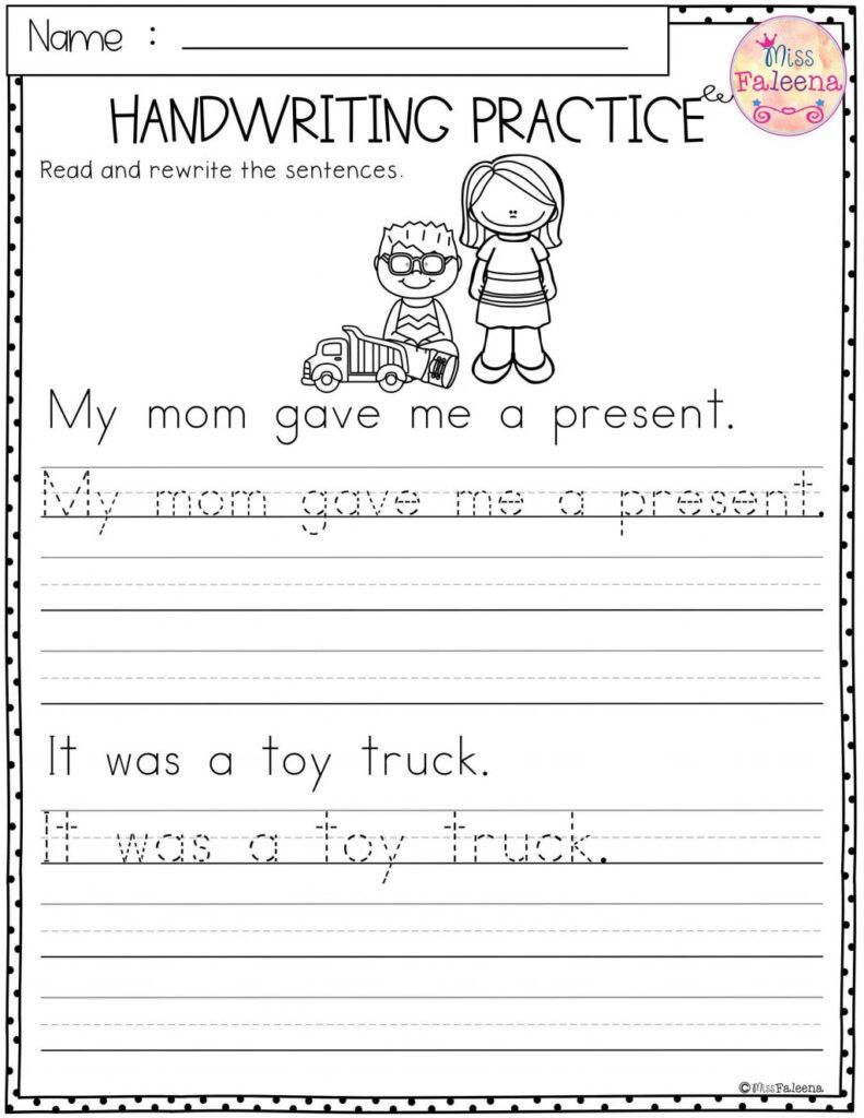Worksheet ~ Kindergarten Handwriting Worksheets Worksheet