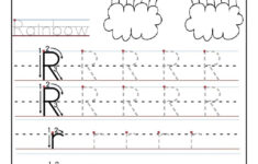 Preschool Letter Tracing Worksheets