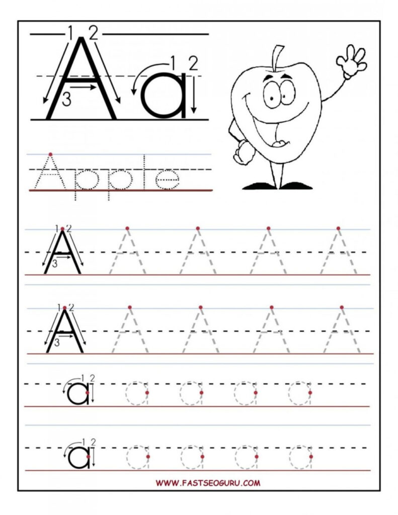 Worksheet ~ Letters Tracing Templates Barka Free Preschool Within Letter I Tracing Worksheets Preschool