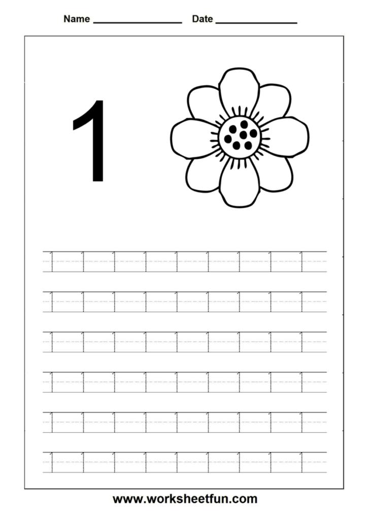 Worksheet ~ Number Tracing Worksheets For Kindergarten And