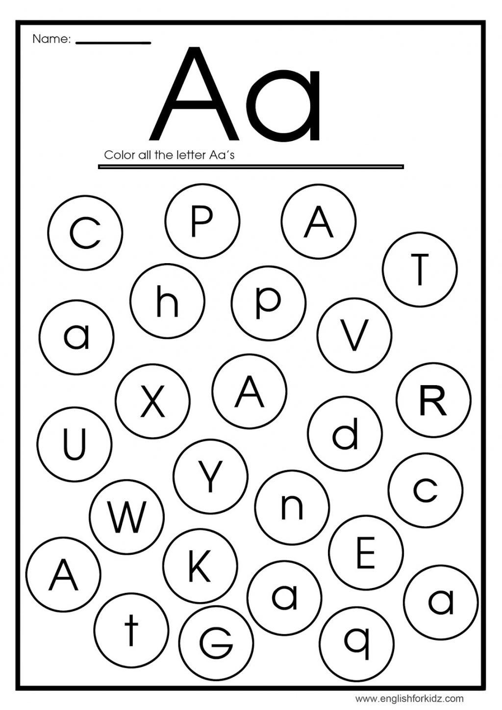 Worksheet ~ Preschool Letter Worksheets Worksheet Ideas Pdf pertaining to Letter A Worksheets Pdf