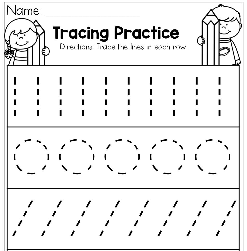 Worksheet ~ Preschool Tracing Worksheets Best Coloring