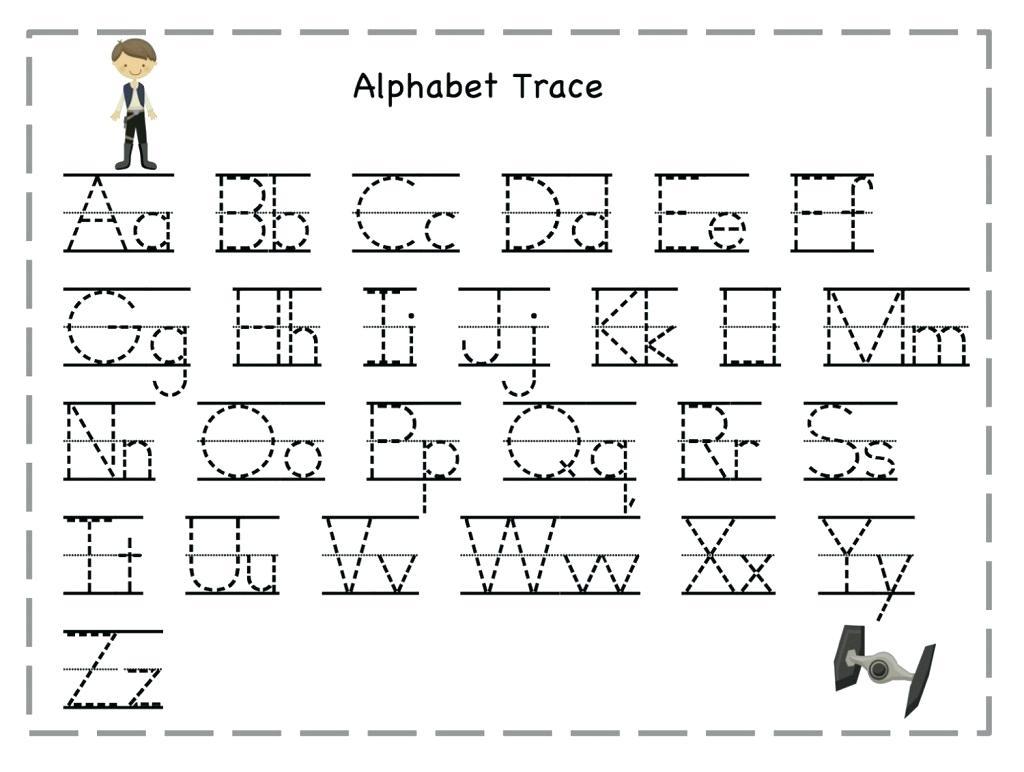 Worksheet ~ Preschool Worksheet Alphabet To Learning Tracing