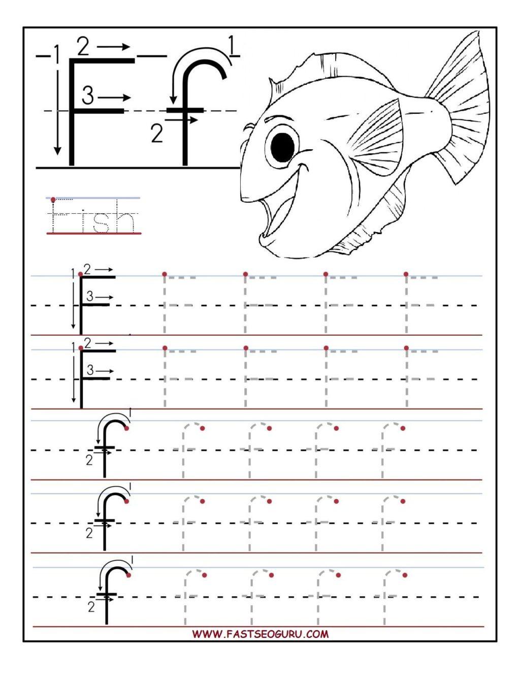Worksheet ~ Printable Letter Tracing Worksheets For