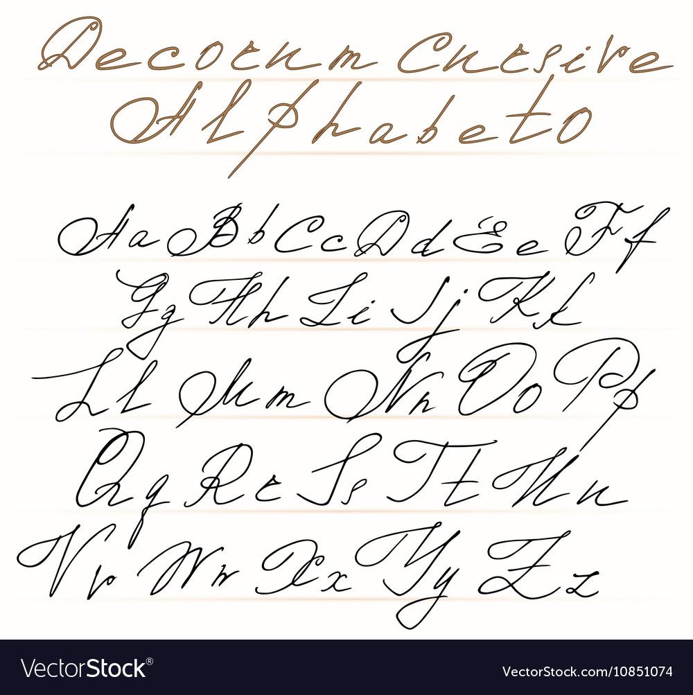 Worksheet ~ Stunning Cursive Alphabet Letters Photo