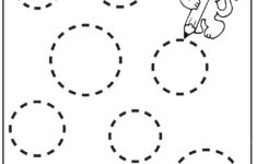 Circle Tracing Worksheet