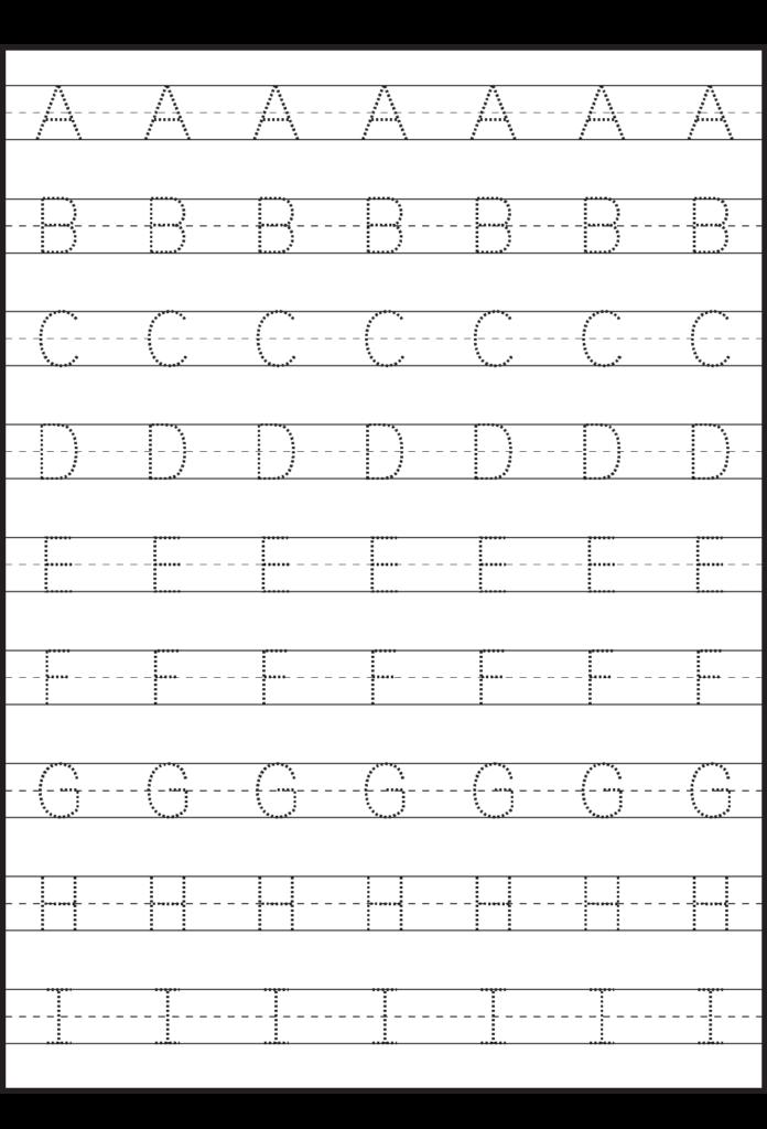 Worksheet ~ Uppercase Letter Tracing Worksheets Free