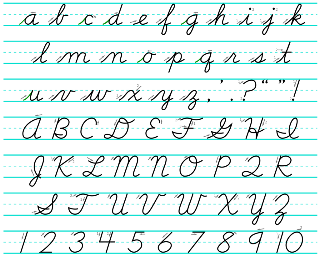 Worksheet ~ Worksheet Cursive Alphabet Tracing Lowercase