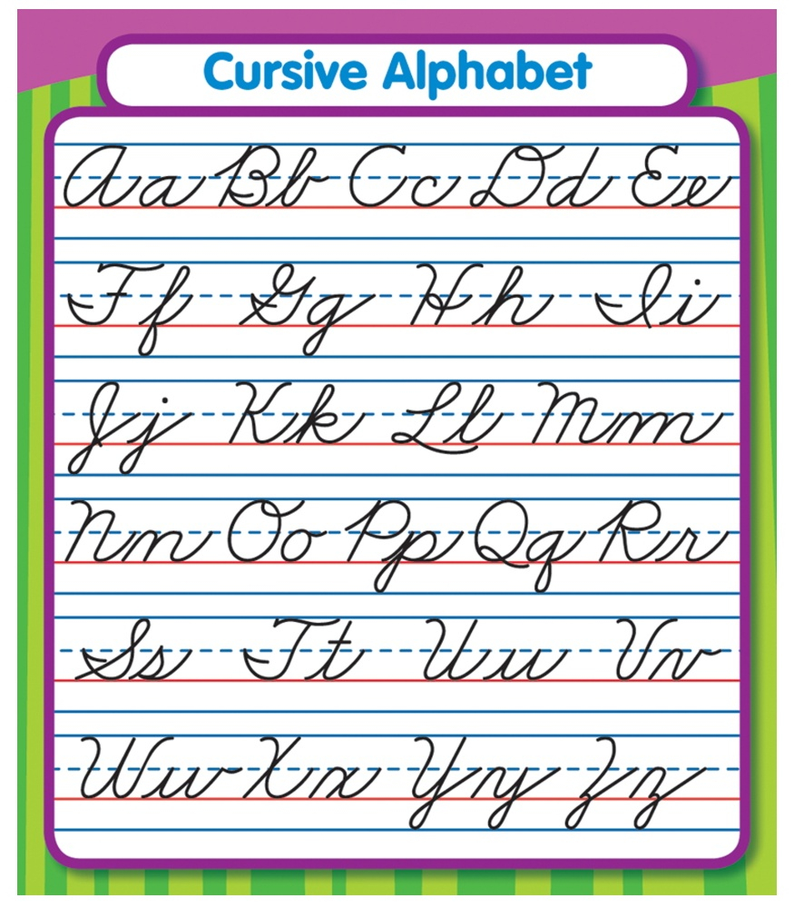 Worksheet ~ Worksheet Free Printable Cursive Alphabet Chart