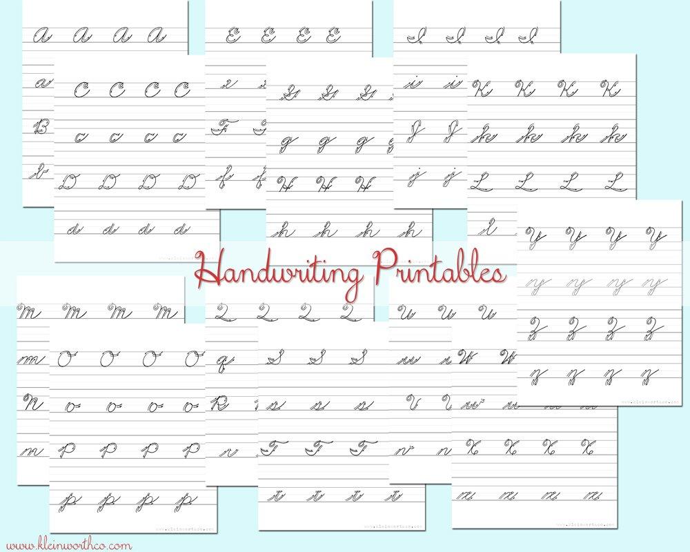 Worksheet ~ Worksheet Handwriting Collage Web Cursive