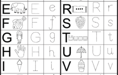 Alphabet Sequencing Worksheets