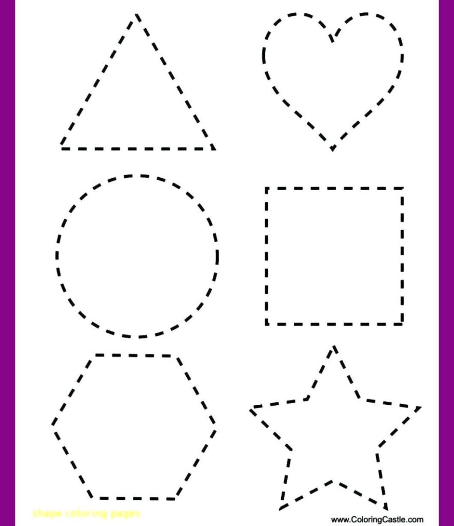 Worksheet ~ Worksheet Shape Tracing Worksheets To You