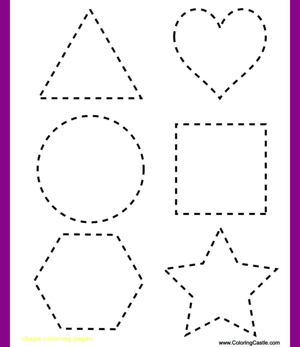Worksheet ~ Worksheet Shape Tracing Worksheets To You