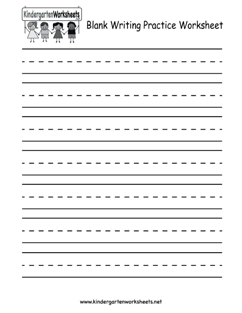 Worksheets : Blank Writing Practice Worksheet Free With Regard To Name Tracing Worksheet With Blank Lines