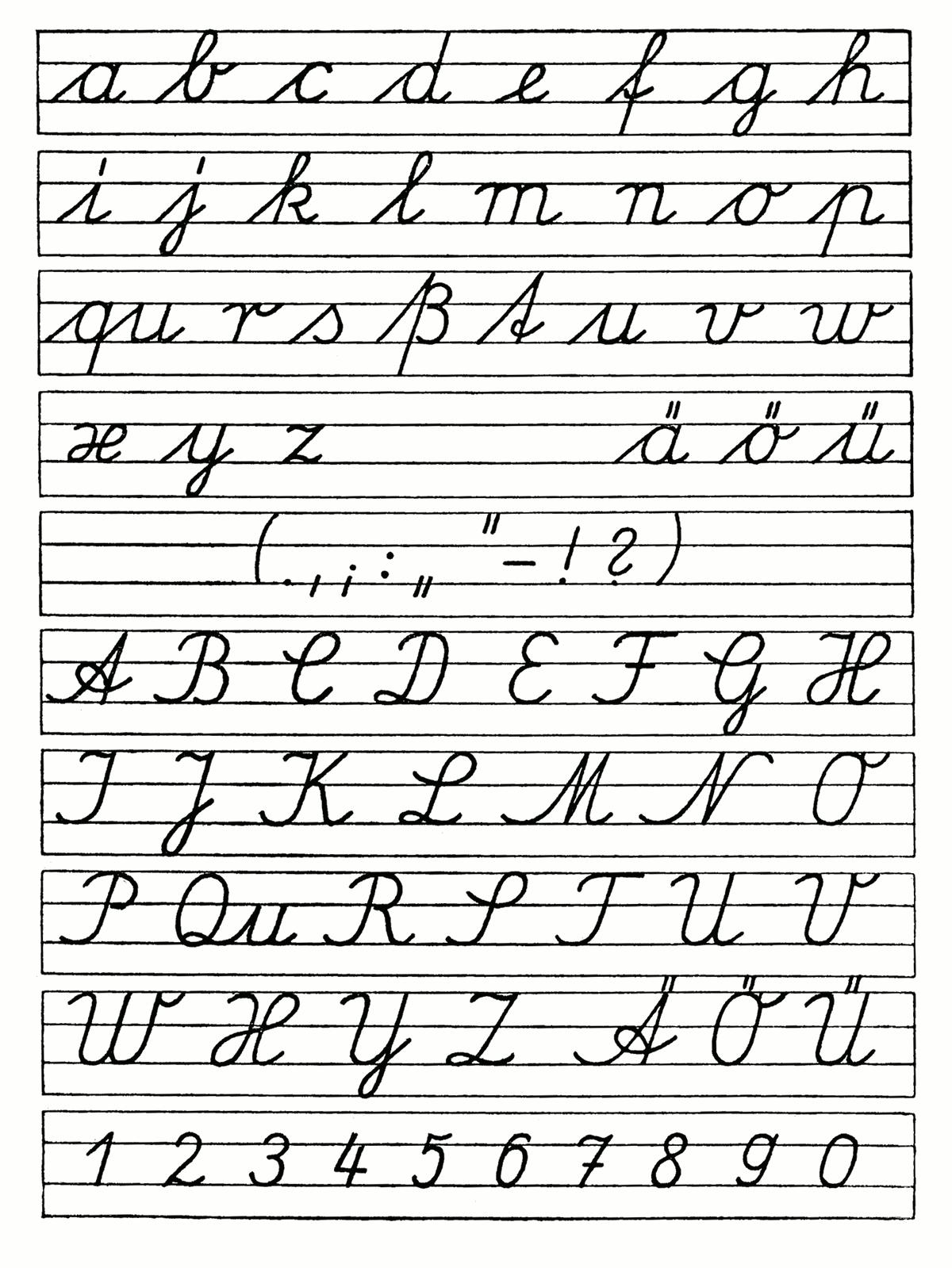 Worksheets : Cursive Handwriting Lesson Lessons Tes Teach