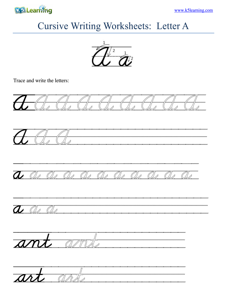 Worksheets : Cursive Writing Worksheets Pdf Fill Printable