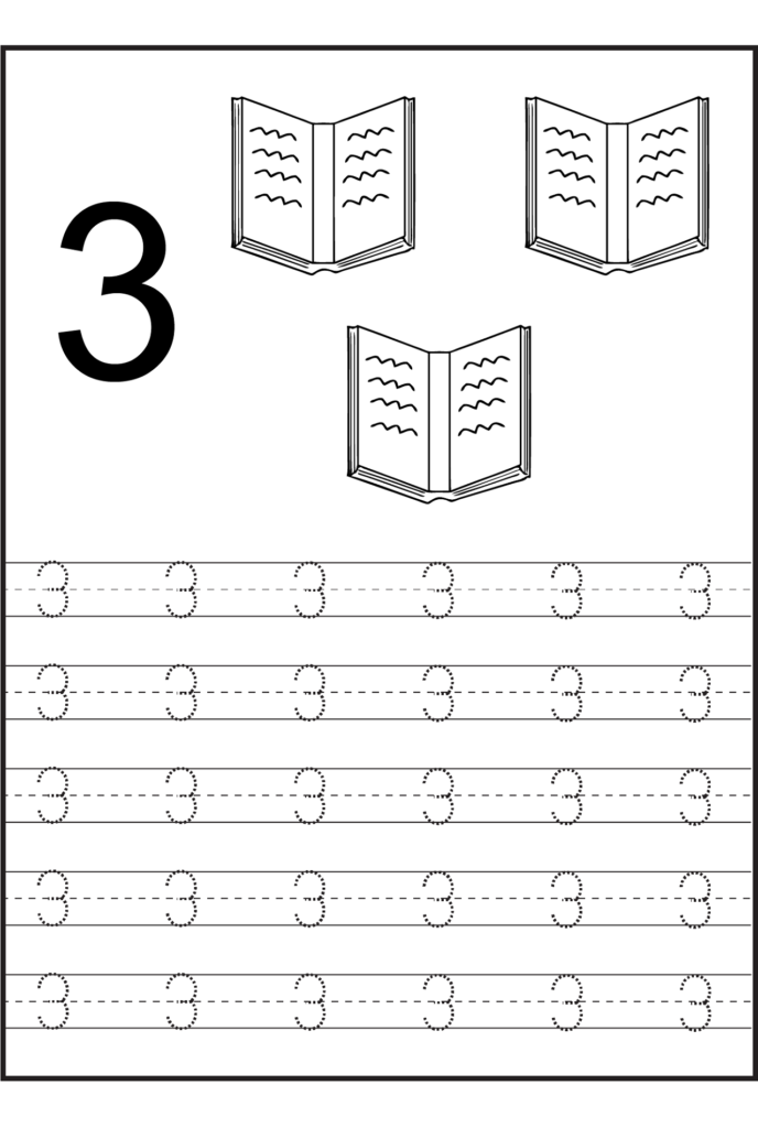 Worksheets For 2 Years Old | Numbers Preschool, Learning