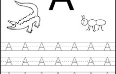 Alphabet Worksheets For 3 Year Olds