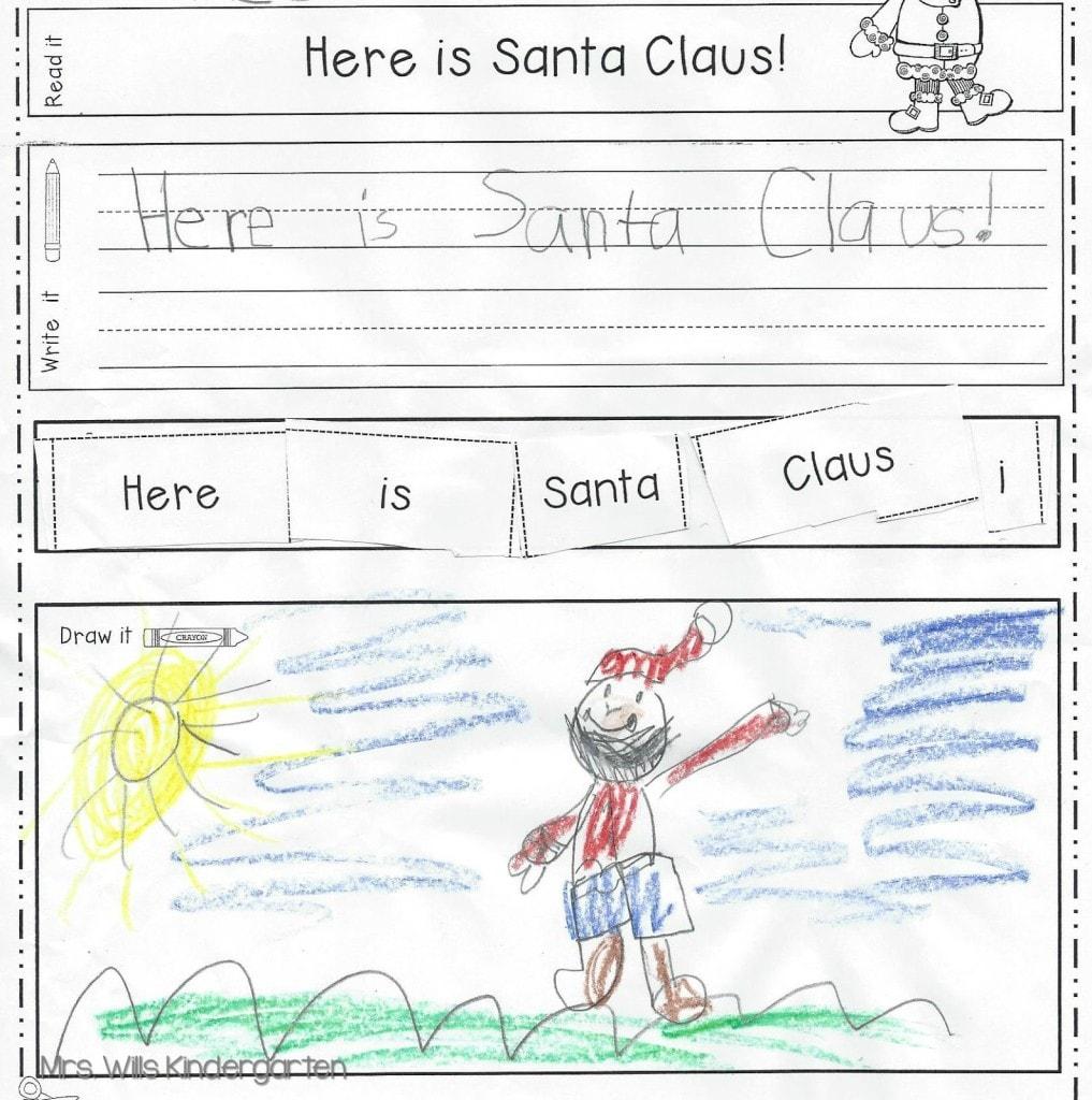 Worksheets : Kindergarten Handwriting Practice And Sentence
