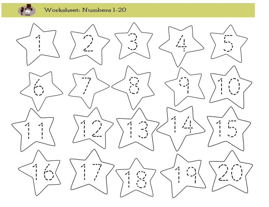 Worksheets : Kingandsullivan Tracing Numbers For Preschool