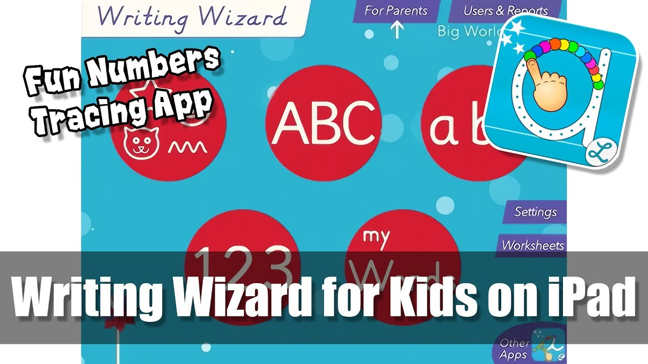 Writing Wizard For Kids On Ipad - Counting 1-10 - Fun Number Tracing  Learning App regarding Alphabet Tracing Apps For Ipad