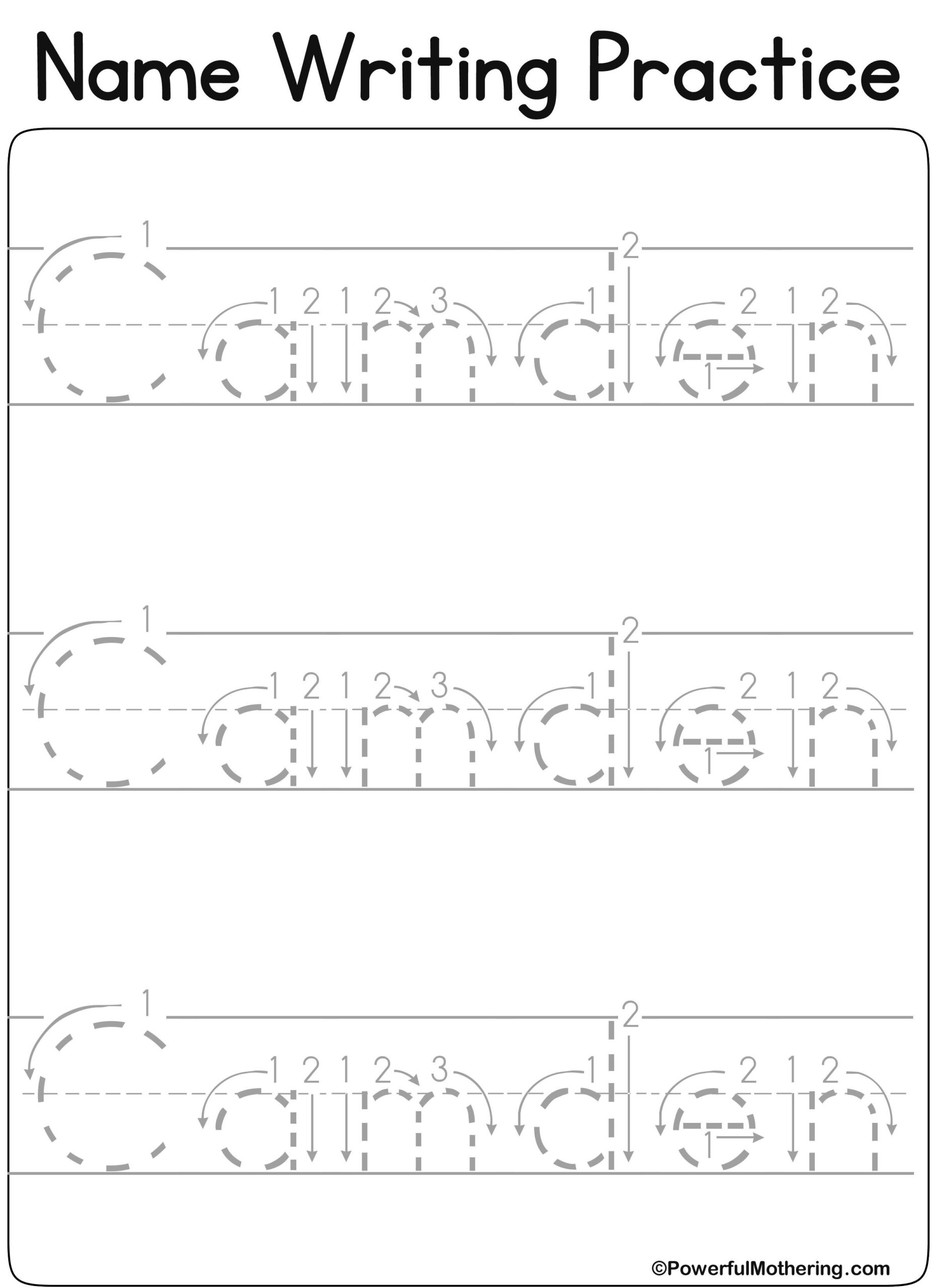 Www.createprintables Custom_Name_Get.php?text&#x3D within Create A Name Tracing Worksheet