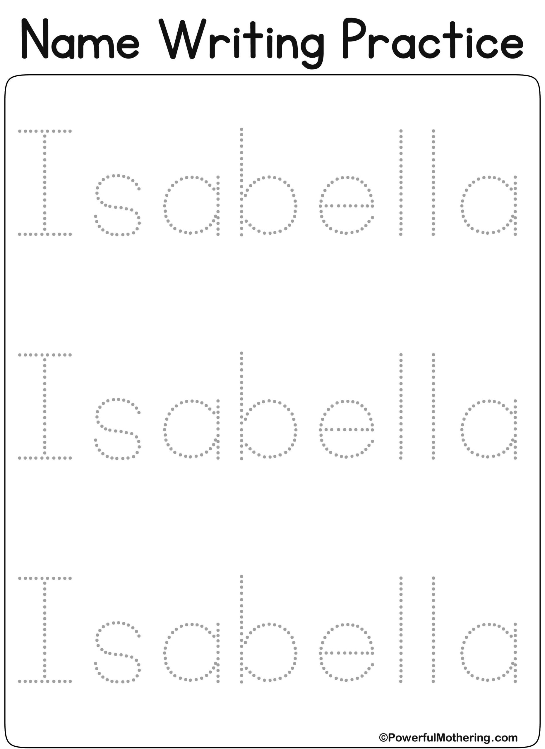 10 Best Isabella Kindergarten Images   Kids Learning pertaining to Tracing Name Isabella