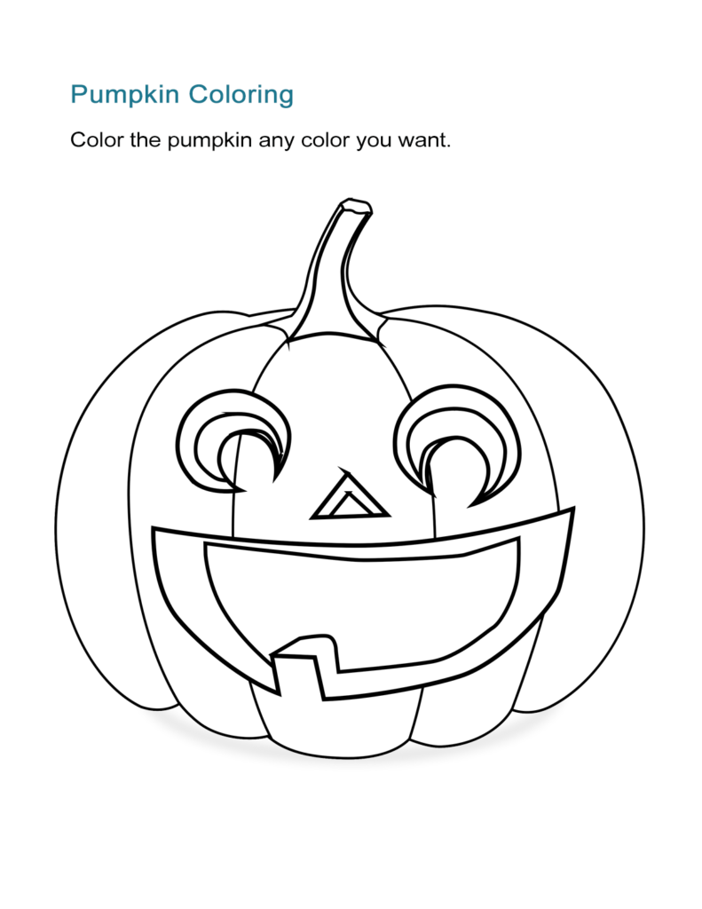10 Halloween Coloring Sheets: Free And Print Ready   All Esl