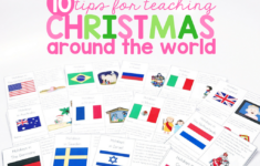 Christmas Around The World Worksheets Esl