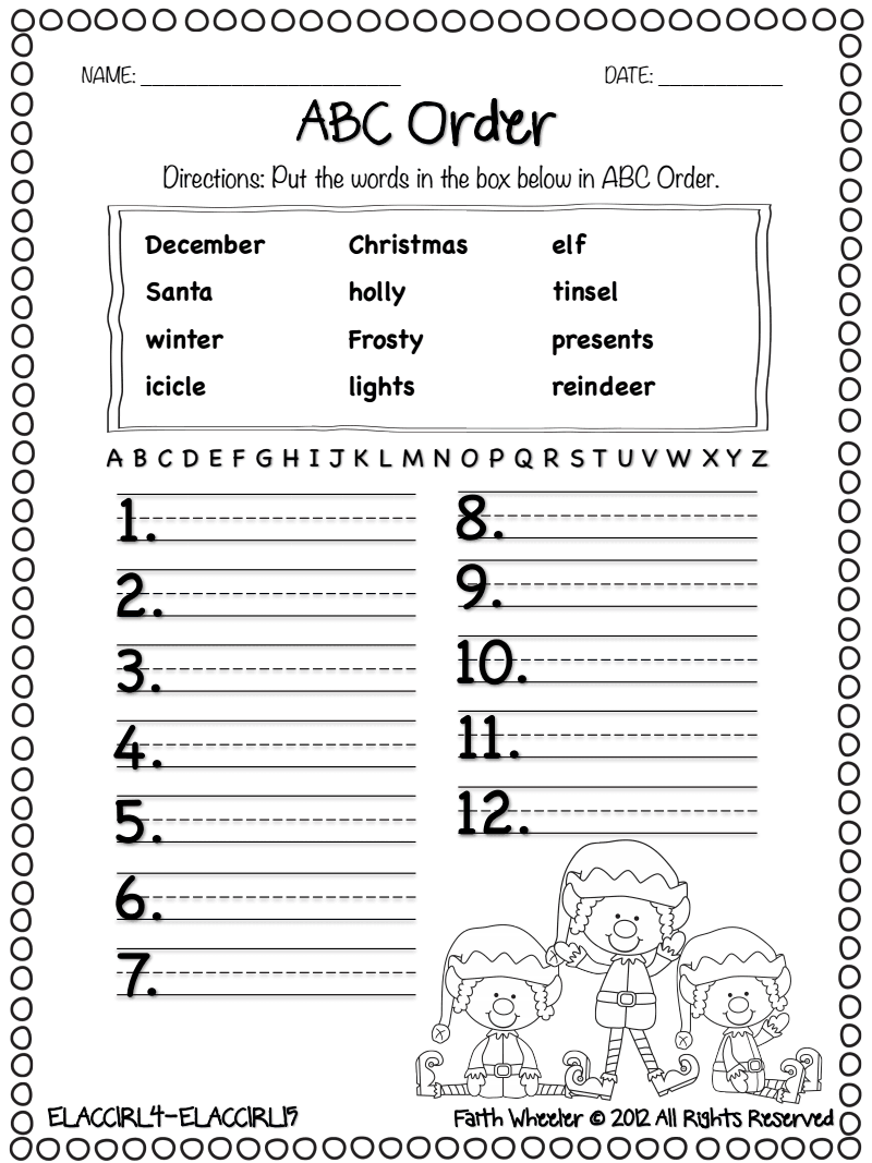 11.23.12 Christmas Freebie.pdf - Google Drive | Teaching