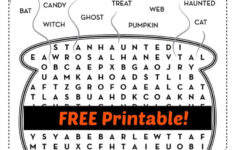 Free Printable Halloween Fun Worksheets
