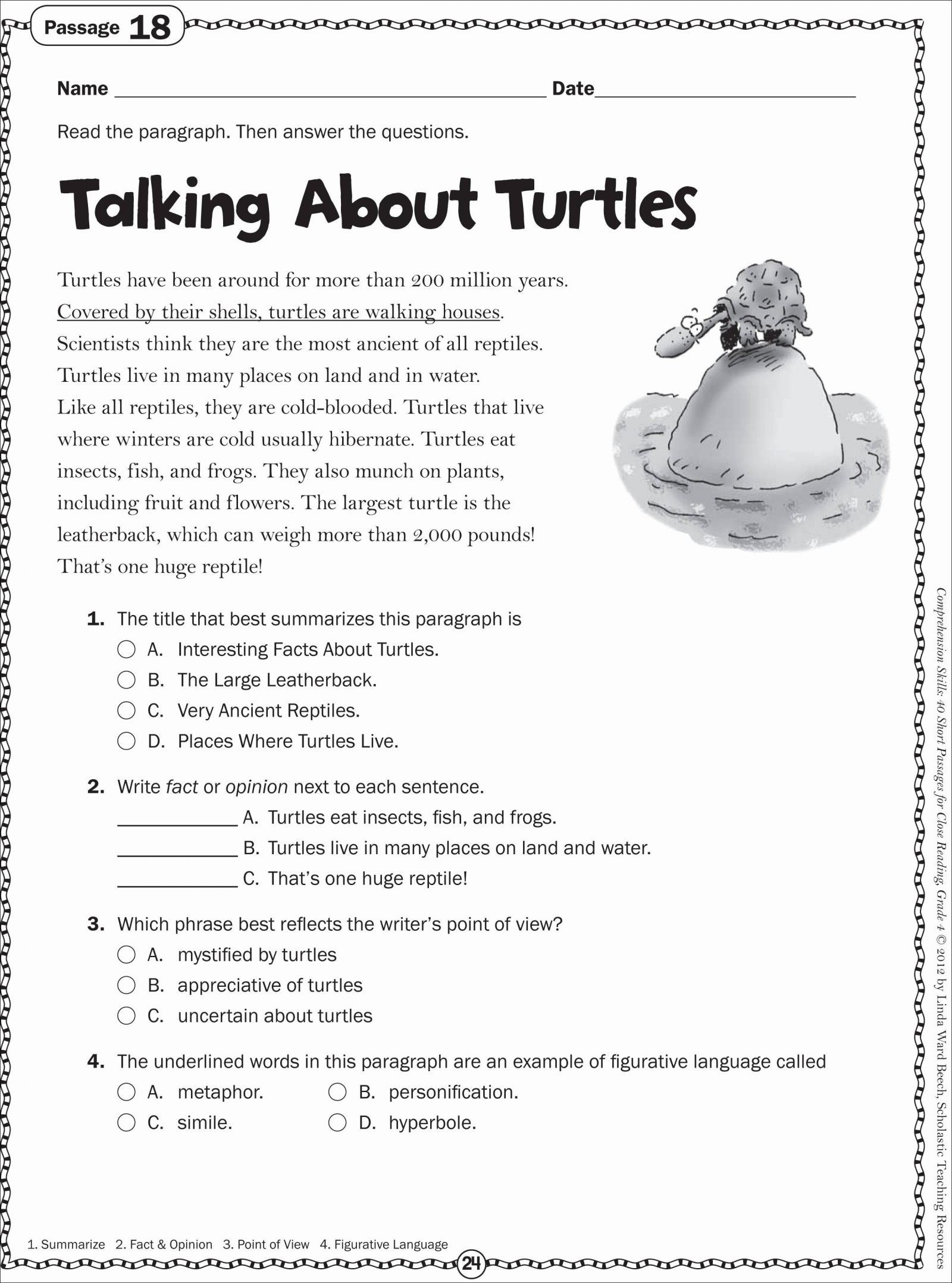 2Nd Grade Activity Sheets Comparing Adjective Worksheets For